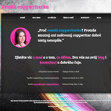 Vesela-copywriterka.cz